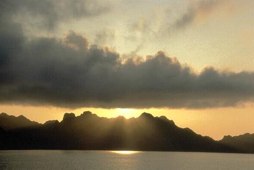 Sunrise Over Komodo