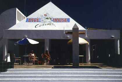 Dive House is Cozumel's Finest Full Service Dive Operator